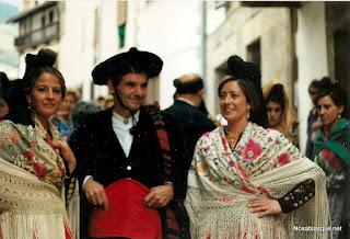 Candelario Salamanca fiesta de trajes