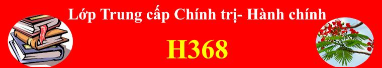 LỚP TCCT-HC H368