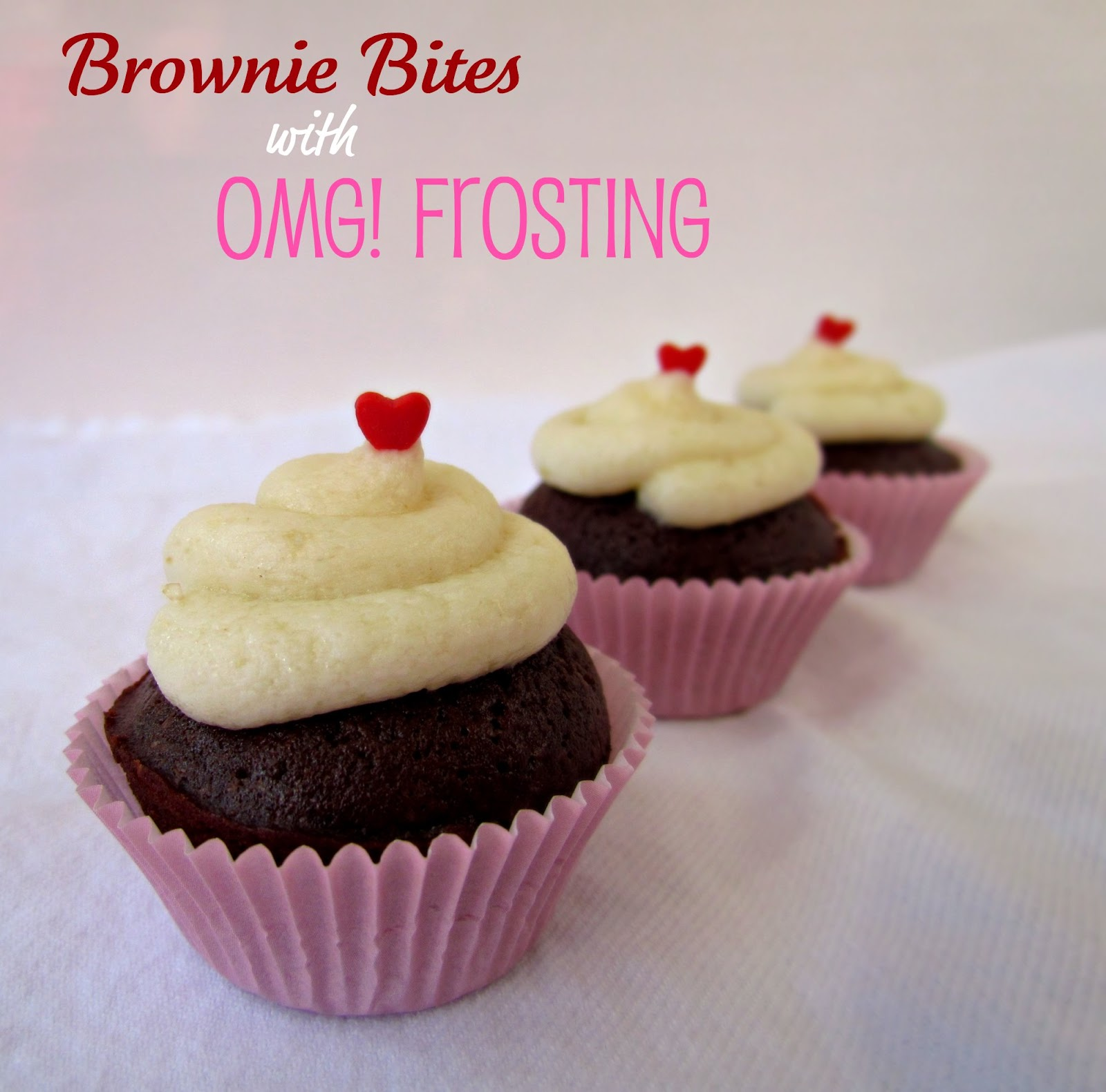 Brownie Bites and Ohmygod! Frosting - Crazy for Crust