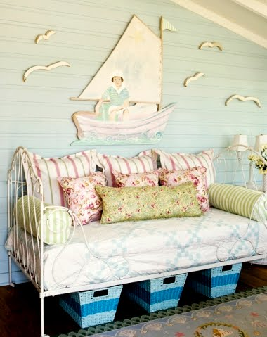 coastal summer cottage porch