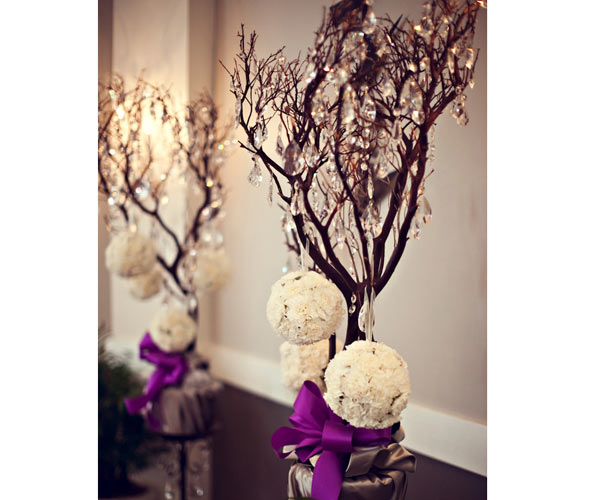 Decoraci n para bodas de oto o invierno tu boda de ensue o for Decoracion invierno