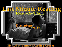 Last Minute Reading Read-a-thon Vonnie's Reading Corner button