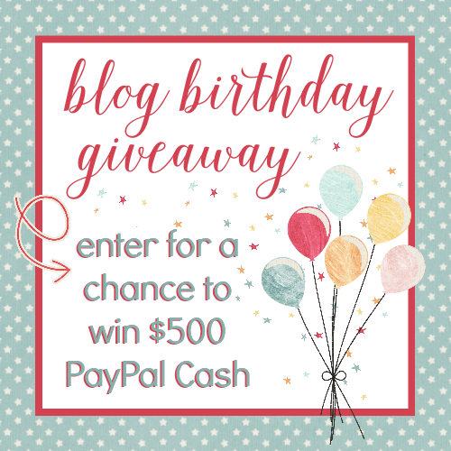 Get entered to win $500 in PayPal Cash! It's like getting an extra tax refund! :) Ends 2/28/15