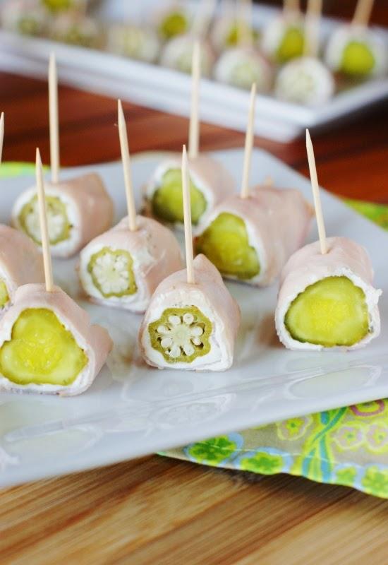 3-Ingredient Ham & Pickle Bites