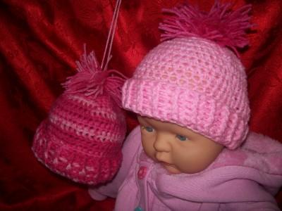 Crochet Hat Pattern For 3 Month Old : Free Crochet Patterns By Cats-Rockin-Crochet