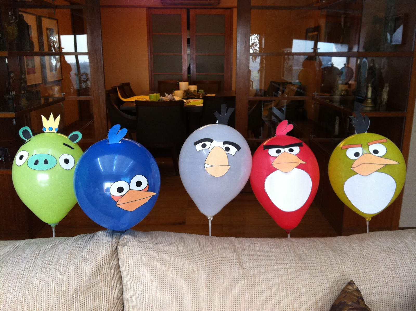 Mommy by day mighty hero by night angry birds birthday for Angry bird birthday decoration ideas