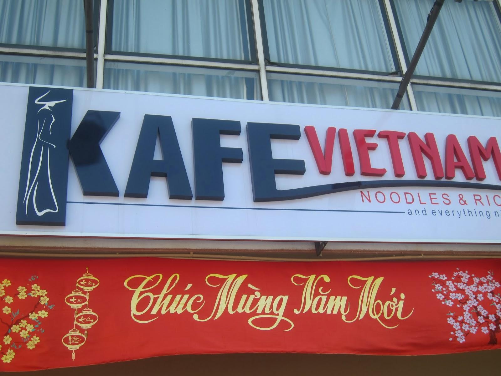 Kafe Vietnam Noodles&Rice @Puchong