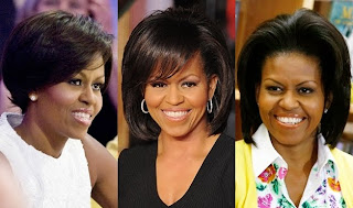 Michelle Obama Changing Hairstyles