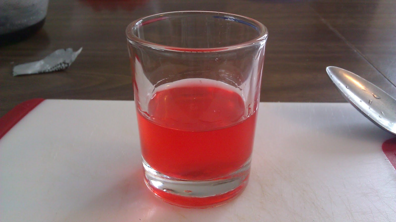 Swedish berry shot