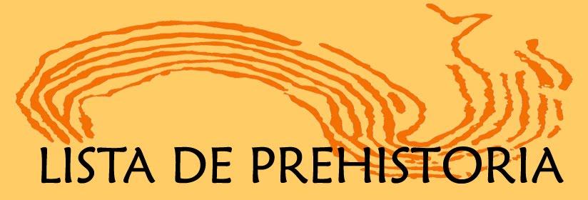 Lista de Prehistoria