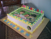 .Birthday Cake with Edible Image.