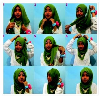 Kreasi Hijab Modis Trendy Untuk Remaja Muslimah Masa Kini