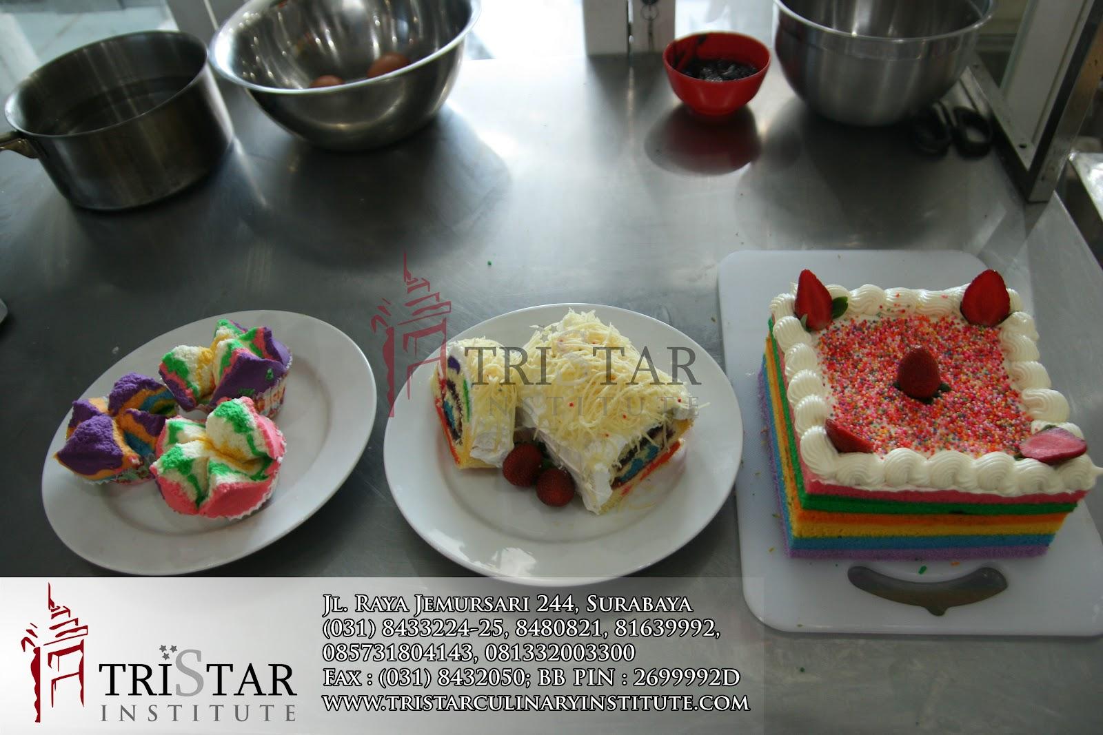 Pelatihan Cara Membuat Rainbow Steam Cake