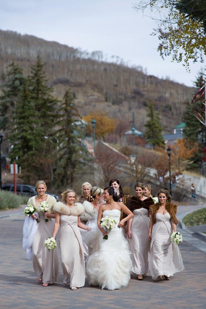 Stunning winter destination wedding in vail colorado for Ideas for destination wedding