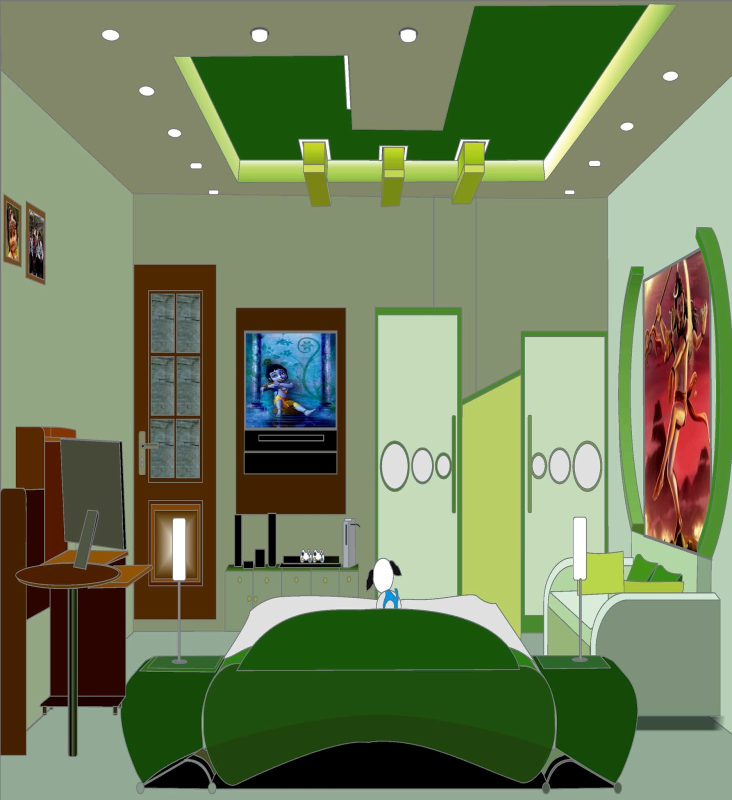 Interior Design In Corel Draw