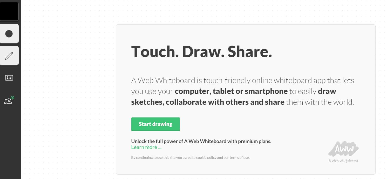 Web Whiteboard Web Whiteboard FAQ