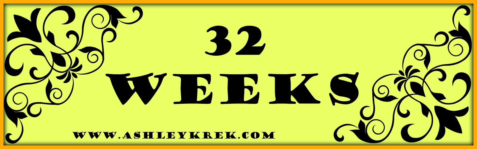 32 Week Baby Bump