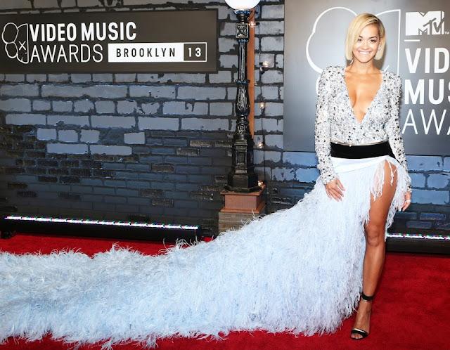 Rita Ora @ MTV Video Music Awards 2013