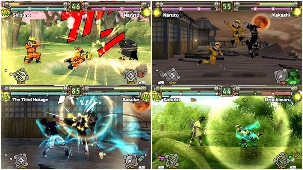 Savedata naruto ultimate ninja heroes 3