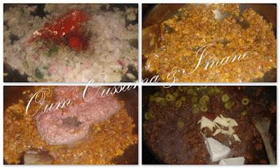 مملحات رمضانية 2015 : الضفيرة بالكفتة مع طريقة العجين المورق