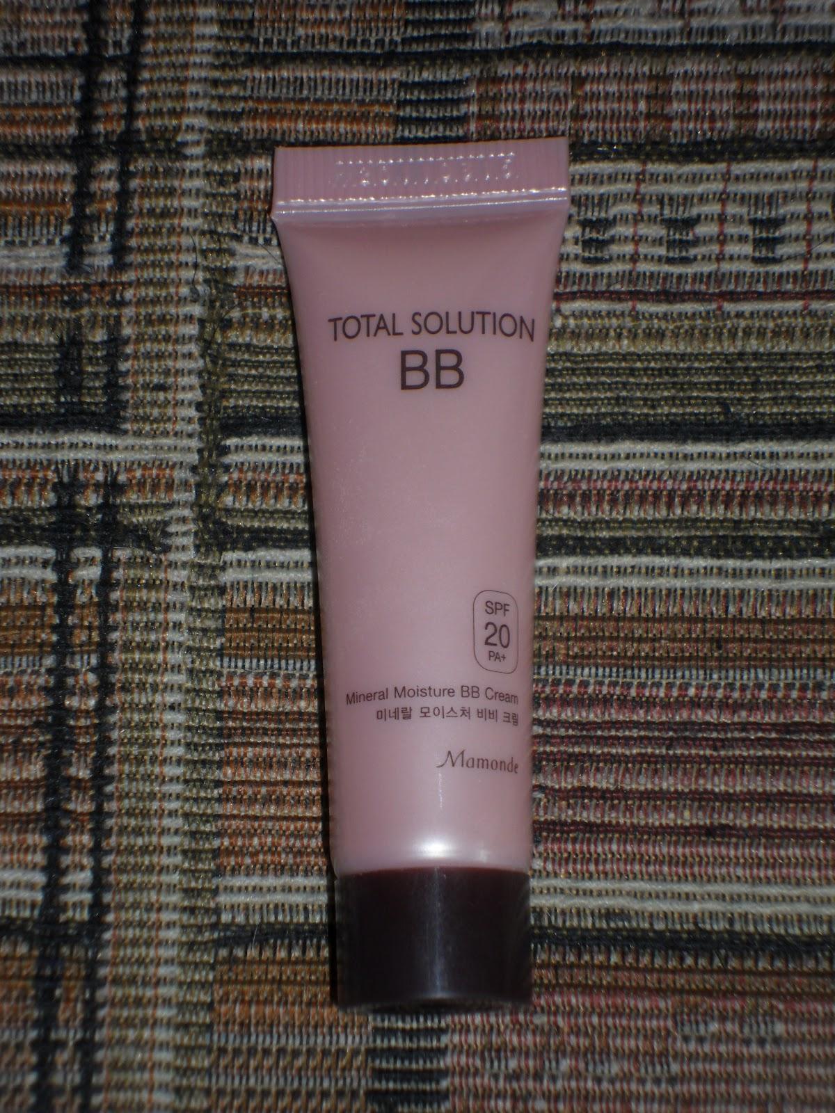 66 mamonde total solution mineral moisture bb cream. Black Bedroom Furniture Sets. Home Design Ideas