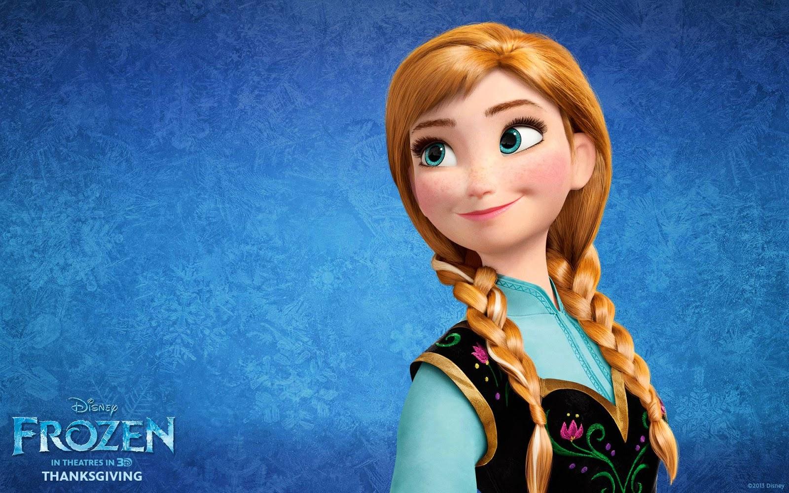 The Frozen Character Anna HD Wallpaper