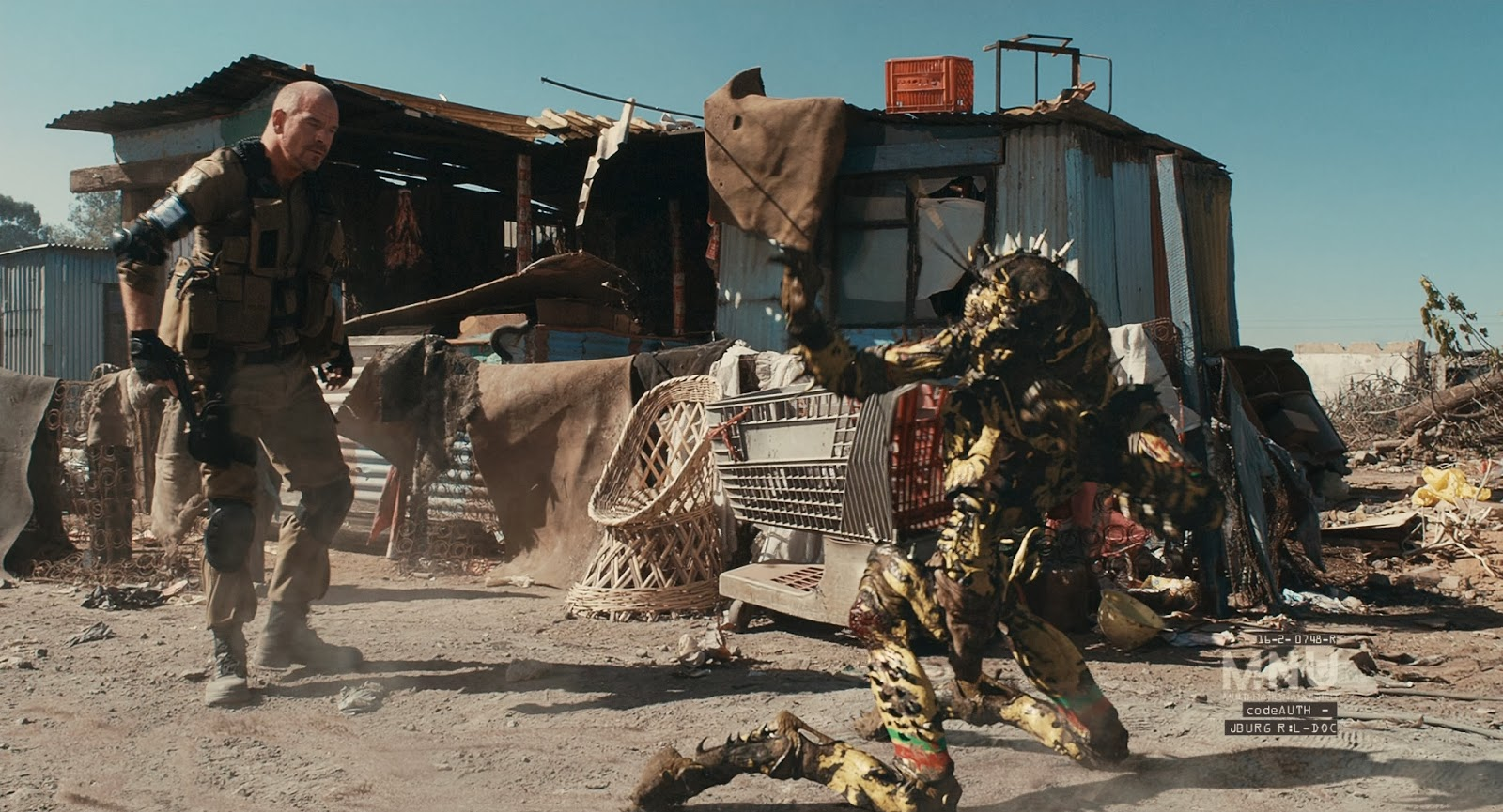 Photo from Neill Blomkamp's District 9