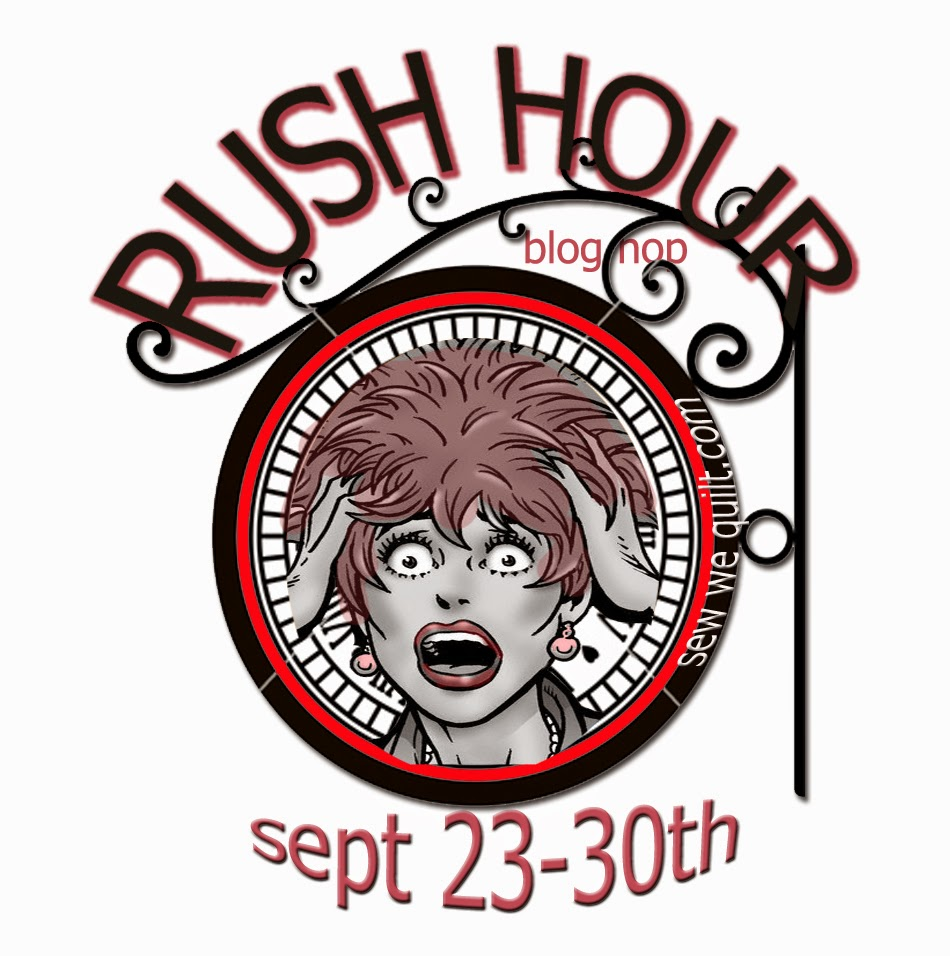 Rush Hour Blog Hop Schedule