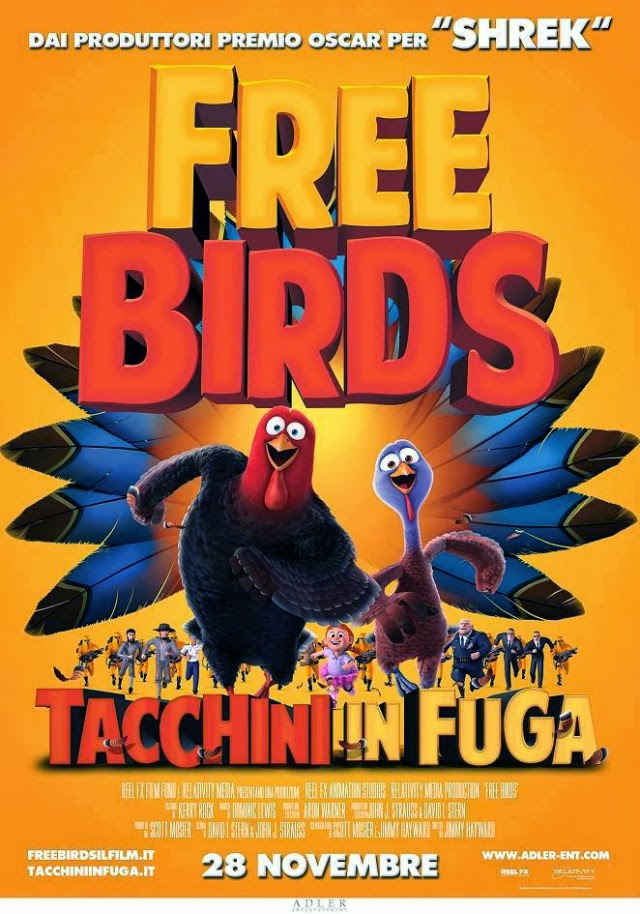 La película Free Birds