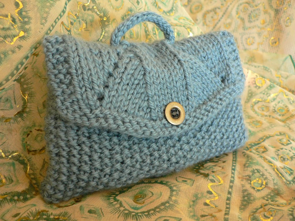 Knitted Bags Pattern : Knitting Patterns Free: bag patterns model