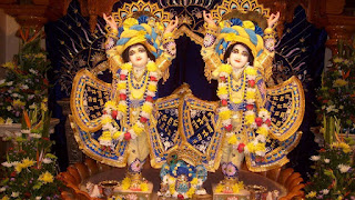 Krishna and Radha in the temple photos