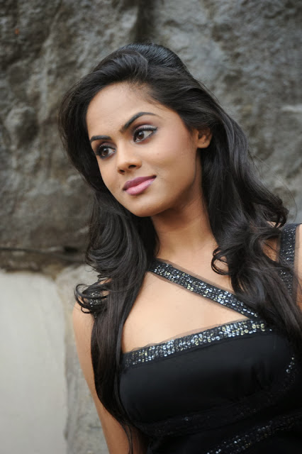 Karthika Nair In Black Dress