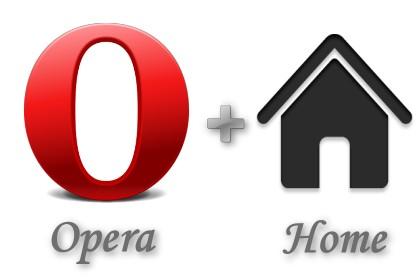 讓新版 Opera 15 能使用首頁功能+搬移暫存檔(cache)路徑