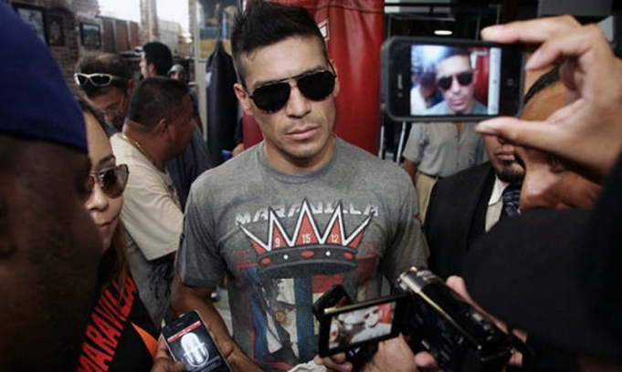 Argentino boxeo maravilla mart nez inaugura un gimnasio for Gimnasio narvaez