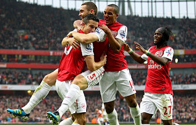 Arsenal 3 - 0 West Bromwich Albion (2)