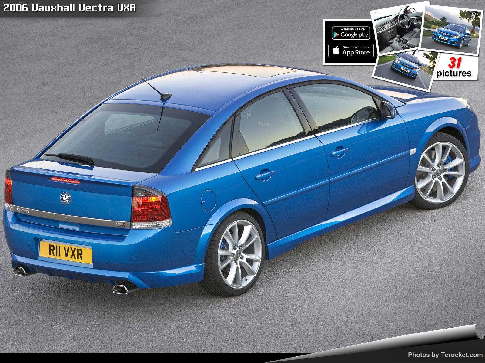 Hình ảnh xe ô tô Vauxhall Vectra VXR 2006 & nội ngoại thất