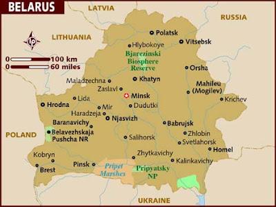 Bielorrusia mapa