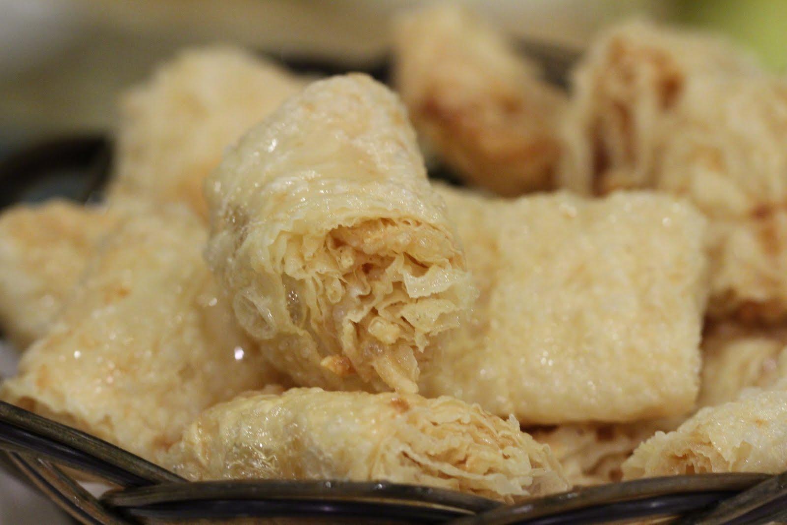 Deep Fried Tofu Skin Deep-fried Tofu Bells 乾炸響