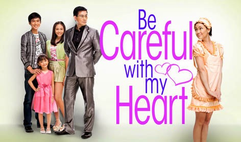 citer mun~, be careful with my heart, Jodi Sta. Maria, Richard Yap, drama tv3, filipina, sinopsis be careful with my heart, drama best, drama filipina yang menarik, drama kelakar, comel,