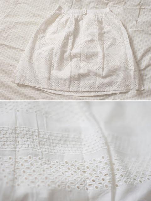biała spódnica,haftowana, haft, Zalando, moda