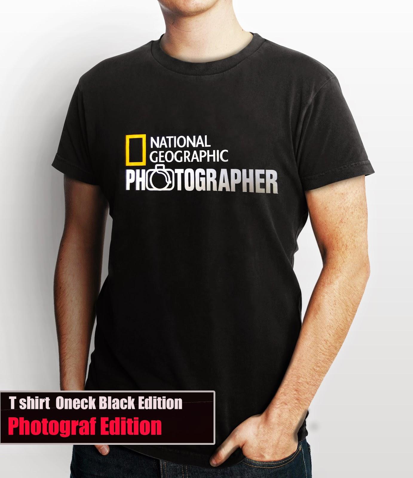 Kaos Natgeo PhotoGrapher Online Shop