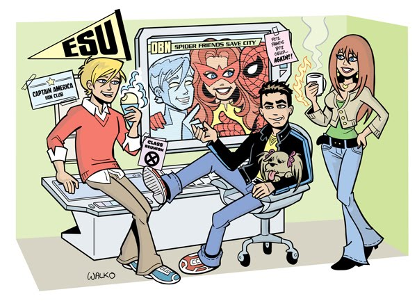 Spider-Man and His Amazing Friends by Bill Walko