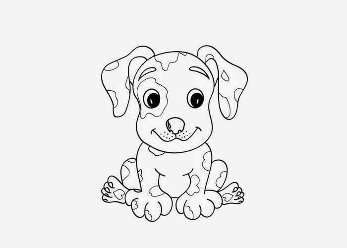 dalmatian coloring pages for kids - photo#27