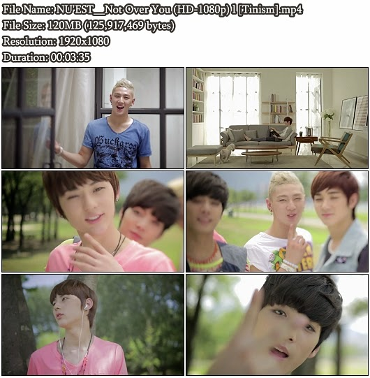 Download MV NU'EST (뉴이스트) - Not Over You (뮤직비디오) (Full HD 1080p)