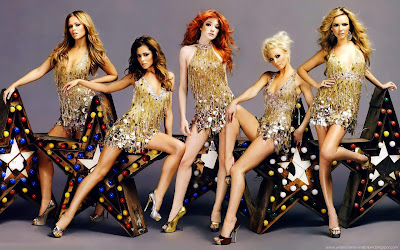 Girls Aloud Widescreen Models Wallpapers