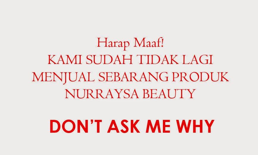 NURRAYSA BEAUTY Produk Kecantikan Nurraysa Beauty Skin Care