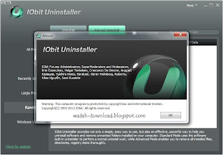 About IObit Uninstaller 2.1