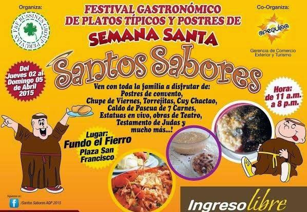 Santos sabores 2015