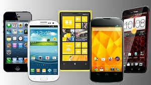 Multiple Smartphones side by side