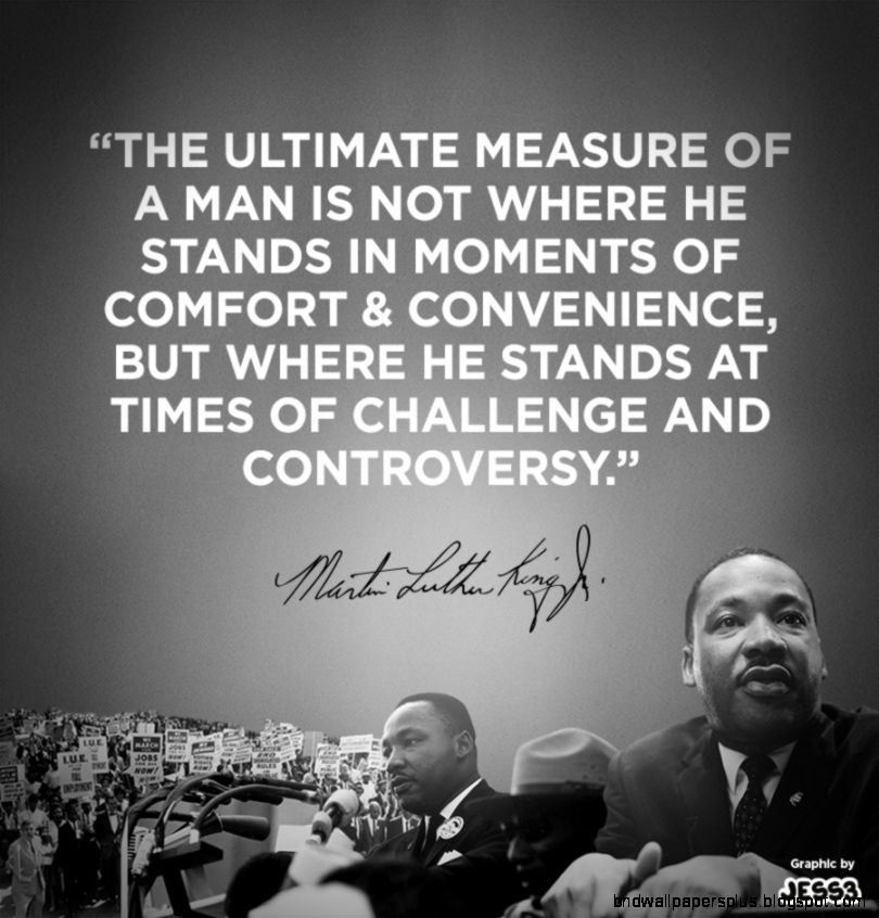 Mlk Quotes QuotesGram